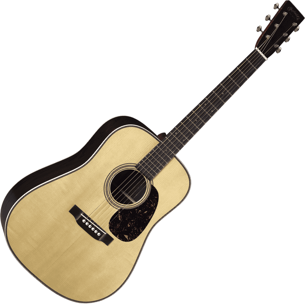 Dreadnought Epicéa Adirondack/Paliss D-28-AUTH37
