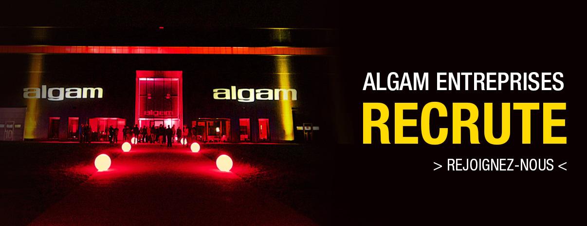 Algam Entreprises recrute