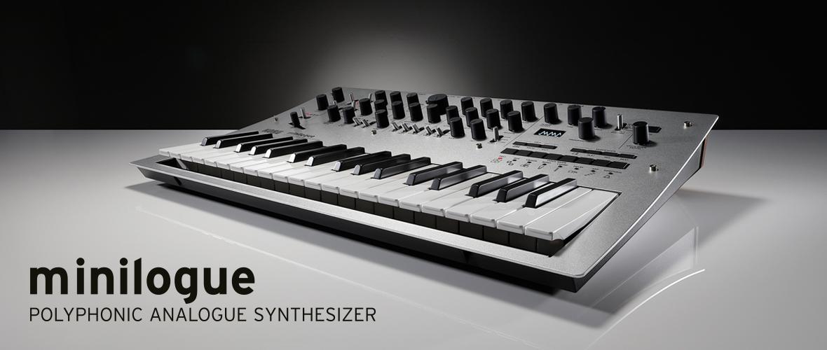Minilogue : nouveau synthétiseur analogique 4 voix