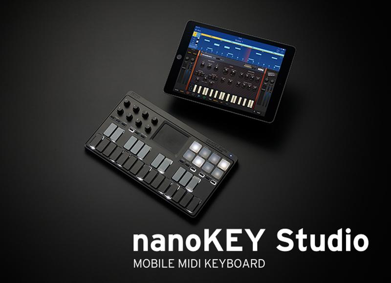 KORG nanoKEY Studio : nouveau clavier maître 2016