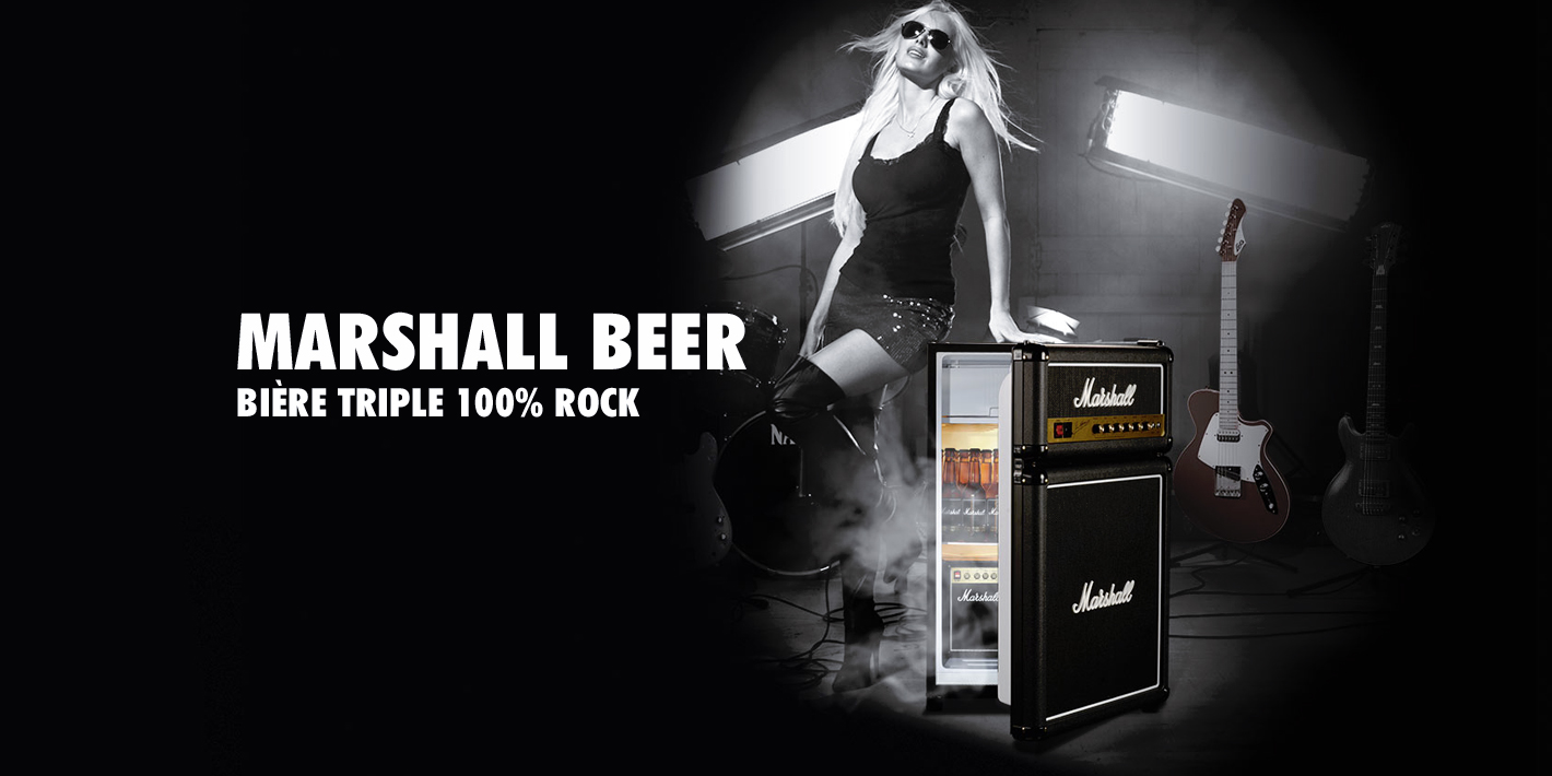 Marshall Beer - Rock n Roll Craft Beer