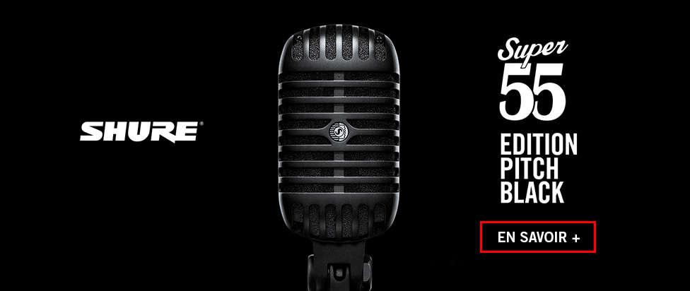 Découvrez le Super 55 édition limitée Pitch Black