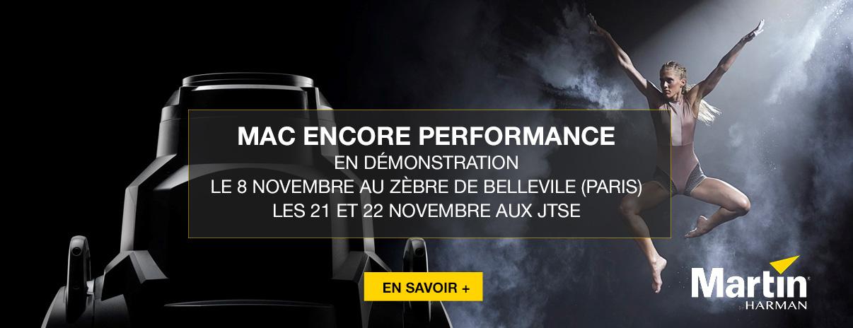 Venez découvrir le Mac Encore le 8/11 à Paris