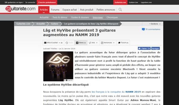 Guitariste.com - 21/01/2019