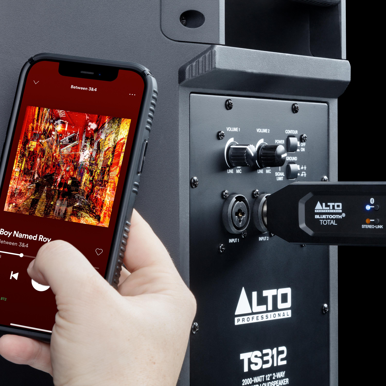 Bluetooth Total sur une enceinte TS312