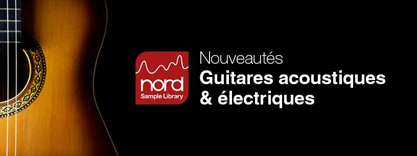 De nouveaux sons s'ajoutent à la Nord Library
