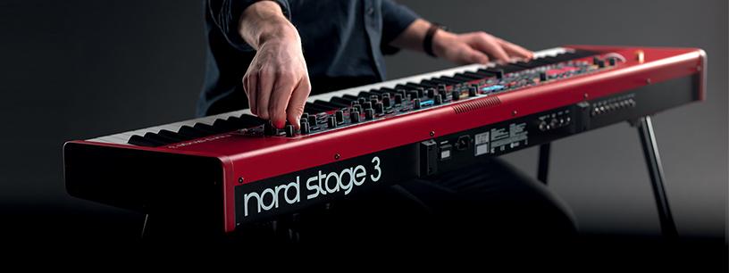 Tour d'horizon du clavier Nord Stage 3