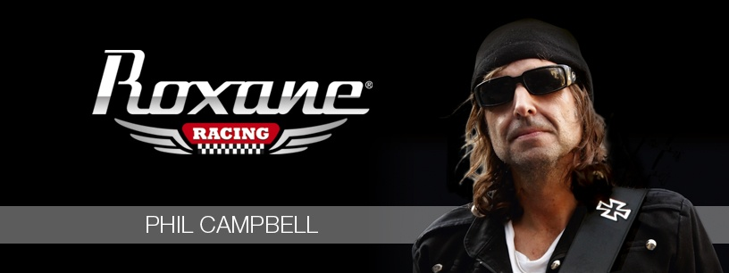 Phil Campbell comblé par sa Roxane Racing