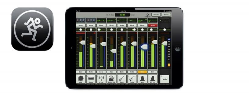table de mixage pour ipad