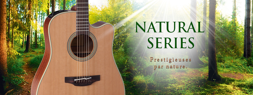 Les guitares Natural de Takamine reviennent !