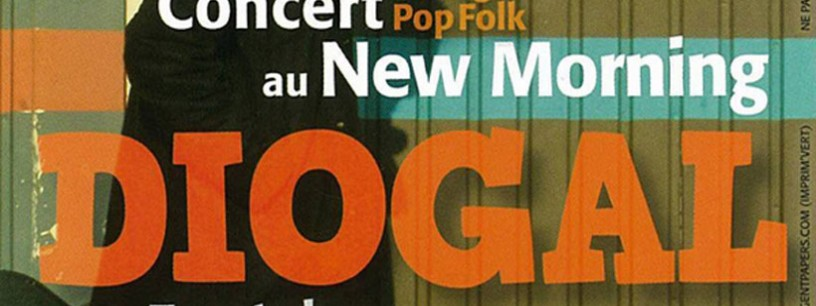 Diogal en concert au New Morning !