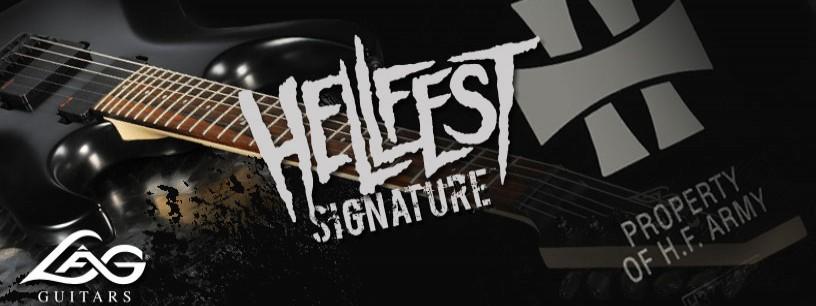 Guitare Signature Lâg pour le Hellfest 2012