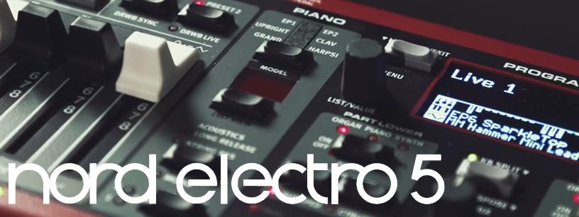 Vidéo: nouvelles fonctionnalités du Nord Electro 5