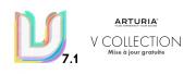 La V Collection d'Arturia passe à la version 7.1