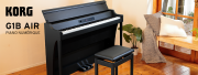 Le piano Korg G1 Air devient plus robuste !