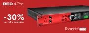 -30% sur l'interface Red 4Pre de Focusrite