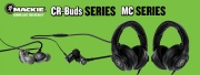 Mackie annonce deux gammes d'écoute studio