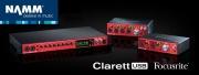 La série Clarett de Focusrite, maintenant en USB !