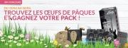 A l'occasion de Pâques, repartez avec votre pack !