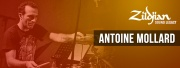 Zildjian : Antoine Mollard, batteur mais pas que.