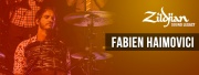 Zildjian : Fabien Haimovici, batteur de Bénabar.