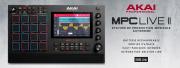 La MPC Live II et ses moniteurs stéréo intégrés