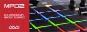 Akai : nouvelle série controleurs MPD Midi Pad