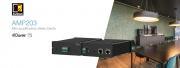 Audac AMP203 : l'amplificateur en réseau