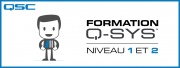 Formations Q-SYS