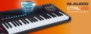 M-Audio : le clavier CTRL 49 est disponible !