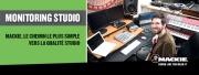 Comprendre le monitoring studio avec Mackie