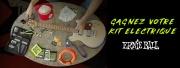 Concours guitaristes : un Kit Ernie Ball à gagner