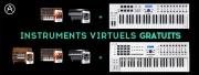 Des instruments virtuels offerts avec Arturia !