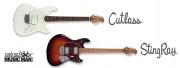 Nouvelles guitares Music Man : StingRay et Cutlass