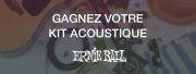 Gagnez un kit pour guitare acoustique Ernie Ball !
