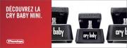 Dunlop: la Cry Baby Mini fait son arrivée !