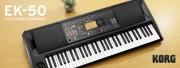 Le nouveau clavier arrangeur : KORG EK-50