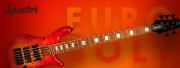 Une finition Inferno Red pour les basses EuroBolt