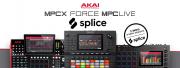 Splice intégré aux Force, MPC X et Live mis à jour