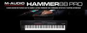 Le nouveau clavier Hammer 88 Pro M-Audio