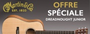 Martin Dreadnought Junior : offre exclusive !