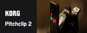 Nouveauté Korg : l'accordeur à pince Pitchclip 2