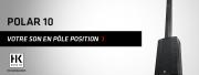 POLAR 10 : le nouveau système à colonne HK Audio