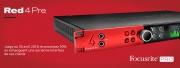 Focusrite Pro : bénéficiez de 30% sur une Red 4Pre