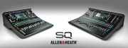SQ : nouvelle console 96 KHz chez Allen & Heath