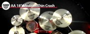 Sabian 18 AA Medium Thin Crash