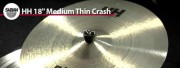 Sabian 18 HH Medium Thin Crash