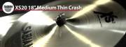 Sabian 18 Xs20 Medium Thin Crash