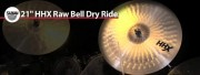 Sabian 21 HHX Raw Bell Dry Ride