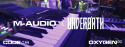 La configuration concert M-Audio d'Underoath